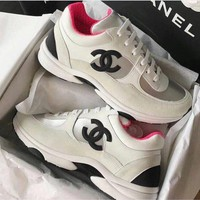 cc kuyou Channel Sneakers PI