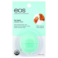 Eos Products Lip Balm  Smooth Sphere  Organic  Sweet Mint  .25 Oz  Case Of 6