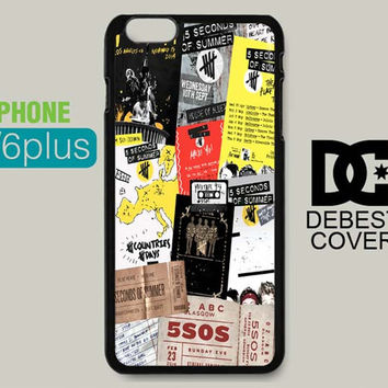 5sos Collage Poster for iPhone Cases   iPhone 4/4s, iPhone 5/5s/5c, iPhone 6/6plus/6s/6s plus