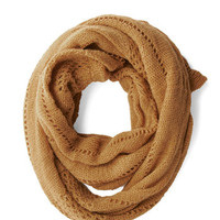 Heartwarming Up Scarf in Amber | Mod Retro Vintage Scarves | ModCloth.com