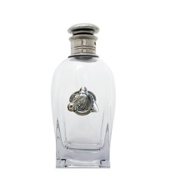 Equestrian Horseshoe Short Liquor Decanter