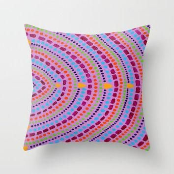 3 Wishes Throw Pillow by Erin Jordan | Society6