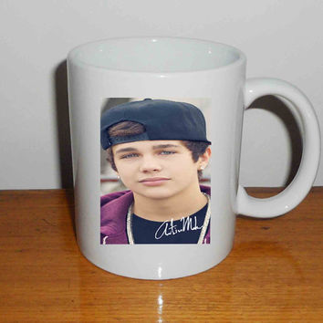 "Austin Mahone With Snapback - Mug, Quote Mug, Beyonce Mug, Ceramic Mug, typography, Beyonce Quote, Cup Mug ""NP"""
