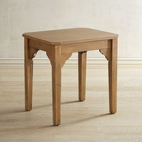 Magnolia Home Bracket Bench Brown End Table