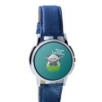 Who's a Good Boy | Pug Funny Face Wrist Watch