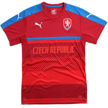Czech Republic Training Soccer Jersey Red