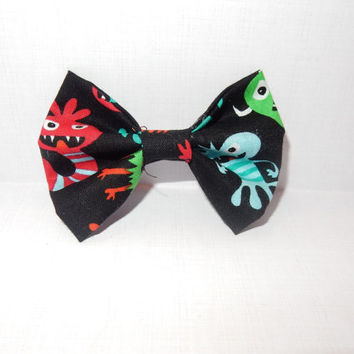 Monster Dog Bow Tie