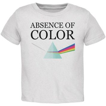 DCCKU3R Halloween Absence of Color Costume Toddler T Shirt