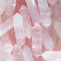 Rose quartz crystal pendants, loose crystals, rose quartz pendant, rose quartz stone, raw rose quartz, crystals for wire wrapping