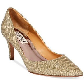 Badgley Mischka Poise Evening Pumps