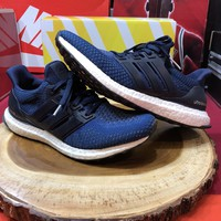 ADIDAS ULTRA BOOST M 2.0 COLLEGIATE NAVY WHITE CORE BLACK NMD R1 AQ5928 Sz 9.5