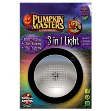 Pumpkin Masters® Halloween 3-in-1 LED Light