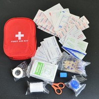 120pcs/pack Safe Camping Hiking Car First Aid Kit Medical Emergency Kit Treatment Pack Outdoor Wilderness Survival
