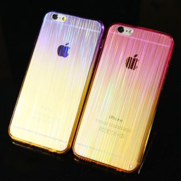 Laser Transparent Protective Case for iPhone