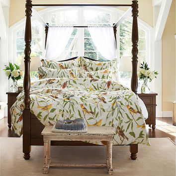 Hot Deal On Sale Bedroom Bedding Pastoral Style Cotton Bedding Set [6451763078]