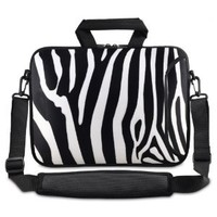 "Zebra 9.7"" 10"" 10.2"" inch Laptop Netbook Tablet Shoulder Case Carrying Sleeve bag For Apple iPad/Asus EeePC/Acer Aspire one/Dell inspiron mini/Samsung N145/Lenovo S205 S10/HP Touchpad Mini 210"