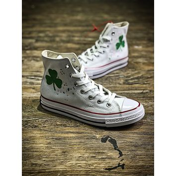 Bandulu Street Couture X Converse Chuck Taylor All Starhigh 1970 White Mid Casual Shoes