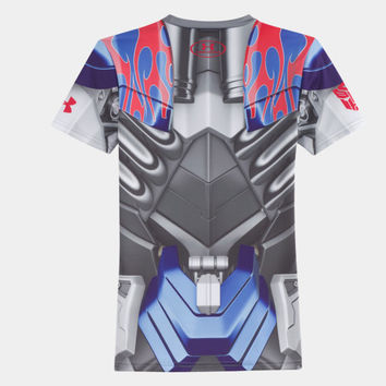 Boys' Under Armour Alter Ego Transformers Optimus Prime Fitted Shirt