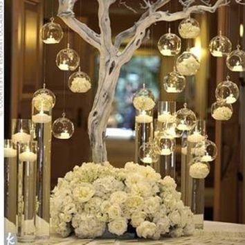 Best Wedding Decorations With Glass Vases Products On Wanelo