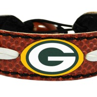 Gamewear Green Bay Packers Classic Football Bracelet