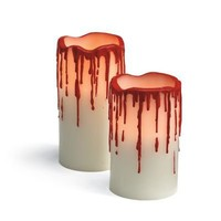 Martha Stewart Blood Drip Candle - Grandin Road