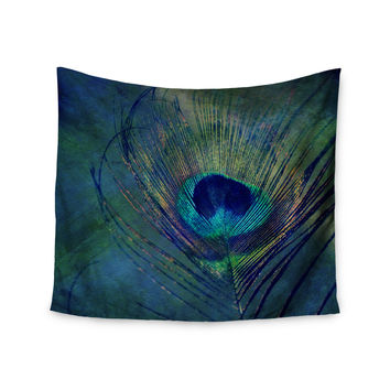 "Robin Dickinson ""Plume"" Wall Tapestry"