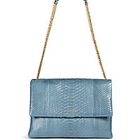Lanvin - Sugar Medium Python Shoulder Bag - Saks Fifth Avenue Mobile