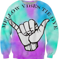 Mellow Vibes Tie Dye Long Sleeve