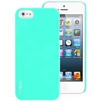 Amazon.com: MobC New iPhone 5 Case ColorPop - Dual UV Slim Fit - Screen Protector / Home Button Included - Retail Packaging - Praha Blue / Mint: Cell Phones & Accessories