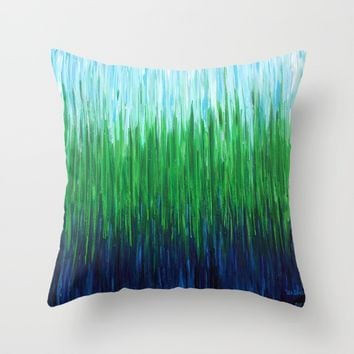 :: Sea Grass :: Throw Pillow by :: GaleStorm Artworks ::