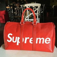 Supreme 2018 trendy women's stylish baggage travel bag handbag F