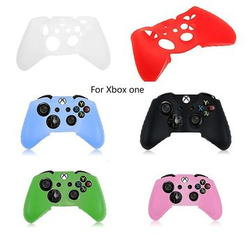 Silicone Rubber Skin Case Gel Protective Cover for XBox one Controller