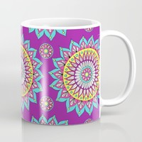 Colorful Mandalas Mug by Sarah Oelerich