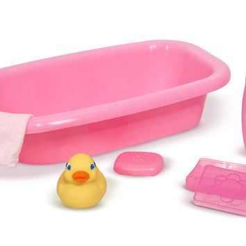 Melissa & Doug - Mine to Love - Doll Bathtub Set