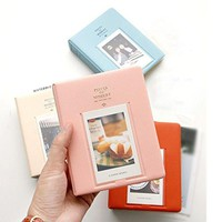 64 Pockets Mini Instant Polaroid Photo Album Picture Case for Fujifilm Instax Mini Film 7s 8 25 50s 90