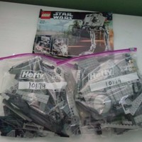 LEGO Star Wars Imperial AT-ST 10174 98% Complete Used Loose