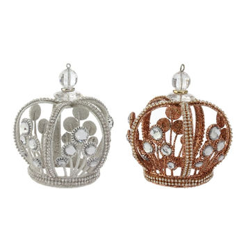 Royal Crown Jeweled Crown Ornament