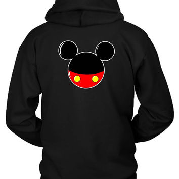 Mickey Mouse Hoodie Two Sided