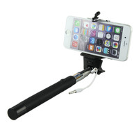 Attractive New Selfie Monopod Extendable Stick Cable Take Pole Handheld Holder w/ Remote Button