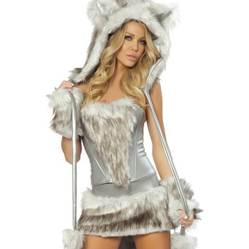 J Valentine Sexy Big Bad Wolf Costume - Small Only