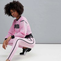 Puma Exclusive To Asos Sweatshirt & Leggings at asos.com