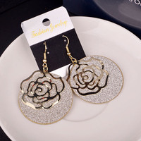 Fashion Romantic Ladies Stylish Earrings [4915557764]