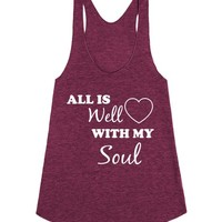 All is Well With My Soul