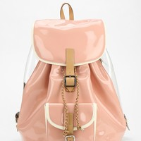 Harper Ave Takashi Patent Leather Backpack - Urban Outfitters