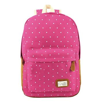 MOJOYCE Canvas Printing Backpack Women School Bag Teenage Girls Cute Bookbag Vintage Laptop Backpacks Female hand bag