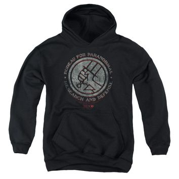 Hellboy Ii - Bprd Stone Youth Pull Over Hoodie