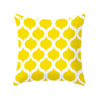 Safi Sunrise Pillow Cover in Yellow