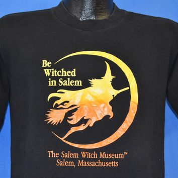 80s Salem Witch Museum Bewitched t-shirt Medium
