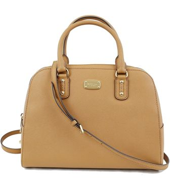 Michael Kors Saffiano Leather Large Satchel Handbag