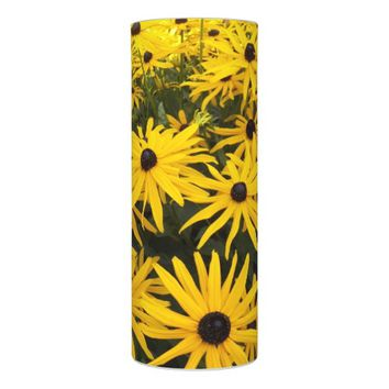 Black Eyed Susans Floral Photo Flameless Candle